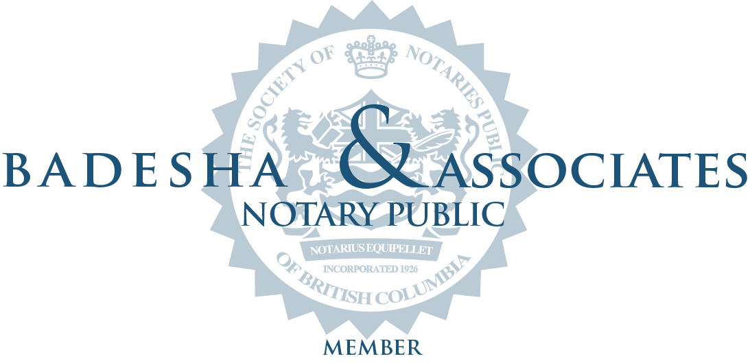 Abbotsford Mobile Notary Badesh & Associates